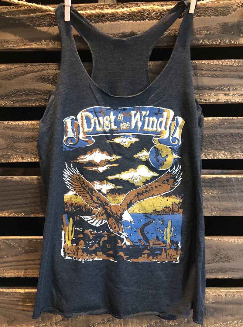 Dust in the Wind Racerback tank top