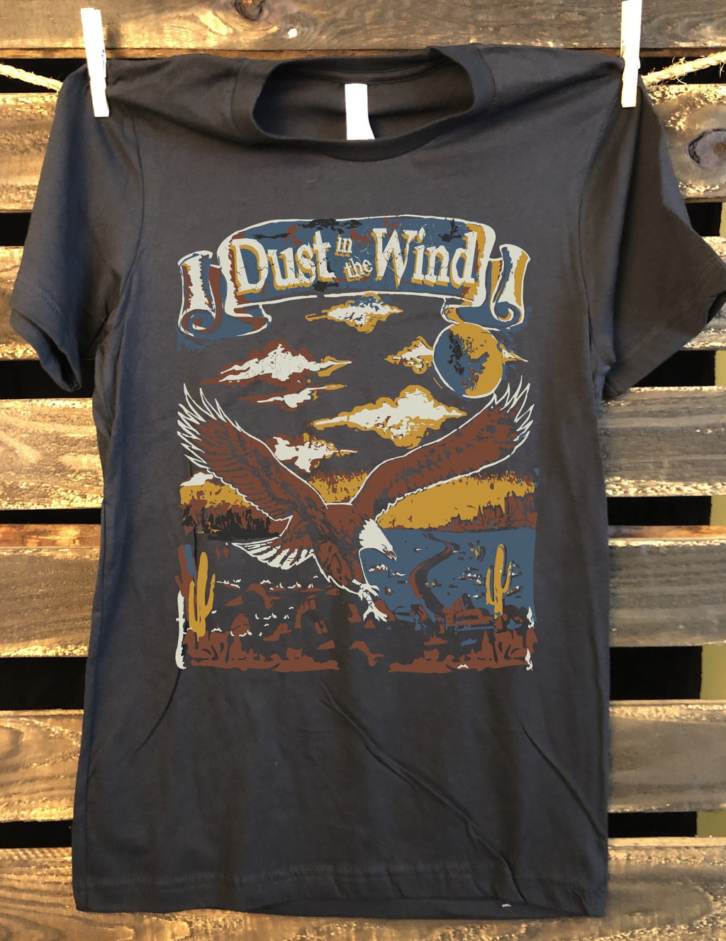 Dust in the Wind unisex T-shirt