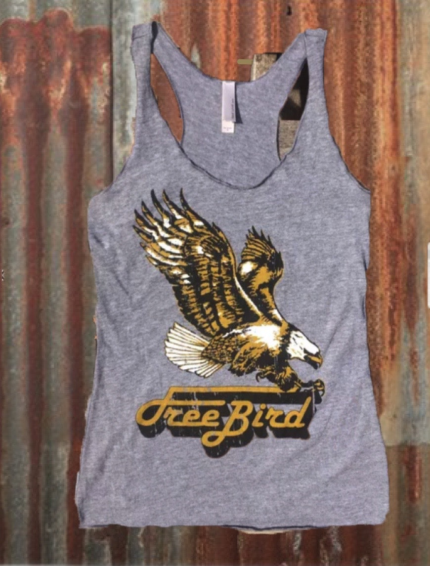 Free Bird Racerback Tank Top