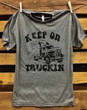 Load image into Gallery viewer, keep on Truckin Unisex T shirt