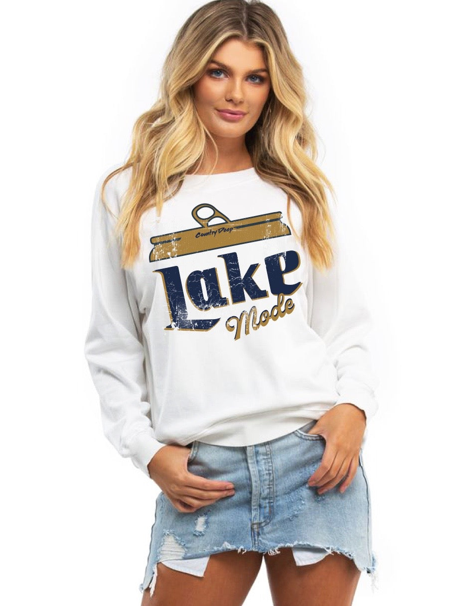 Lake Mode Unisex Crewneck Sweatshirt