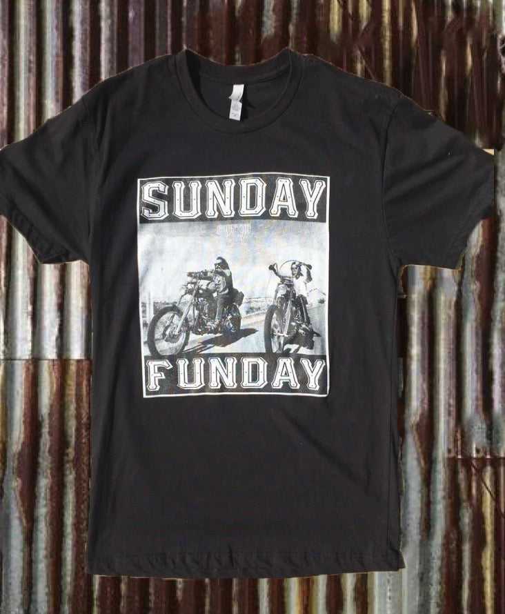 Sunday Funday Motorcycle T-Shirt