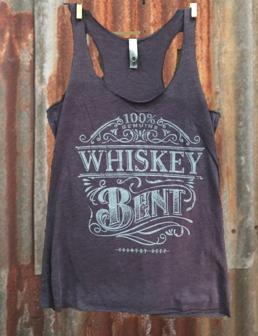Whiskey Bent Racerback Tank Top