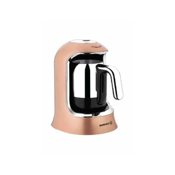 Korkmaz Coffee machine Turkish Rose Gold/Chrome-400W