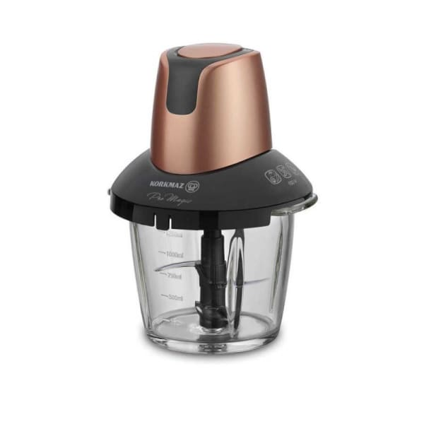 Mini Hachoir KORKMAZ Food Processor - BOLEN VERRE-900W