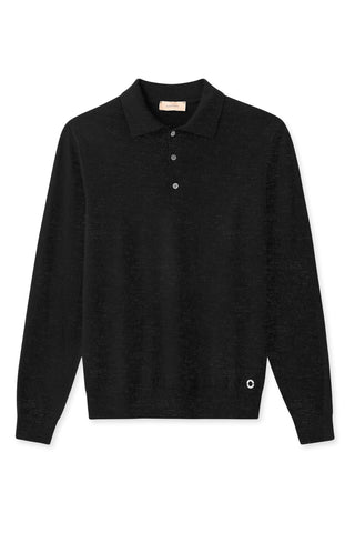 Komme Dark Grey Melange Polo