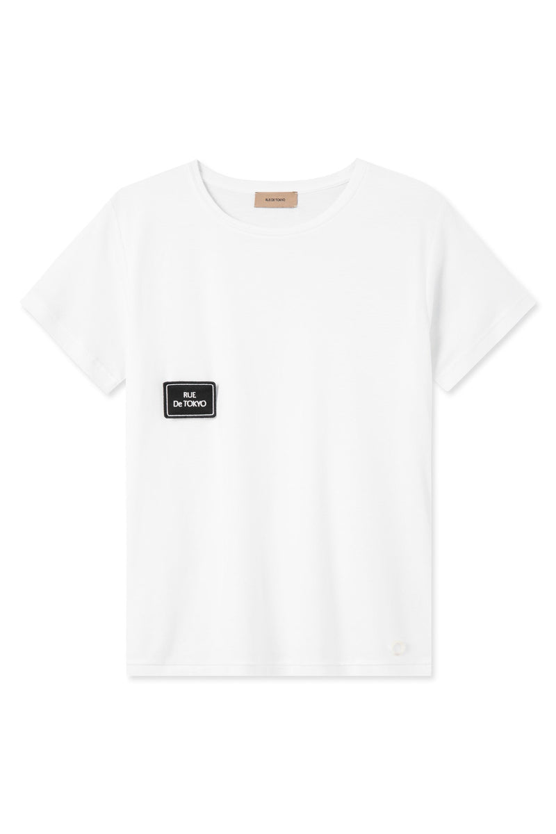 TAIMA WHITE FLAG PATCH T-SHIRT