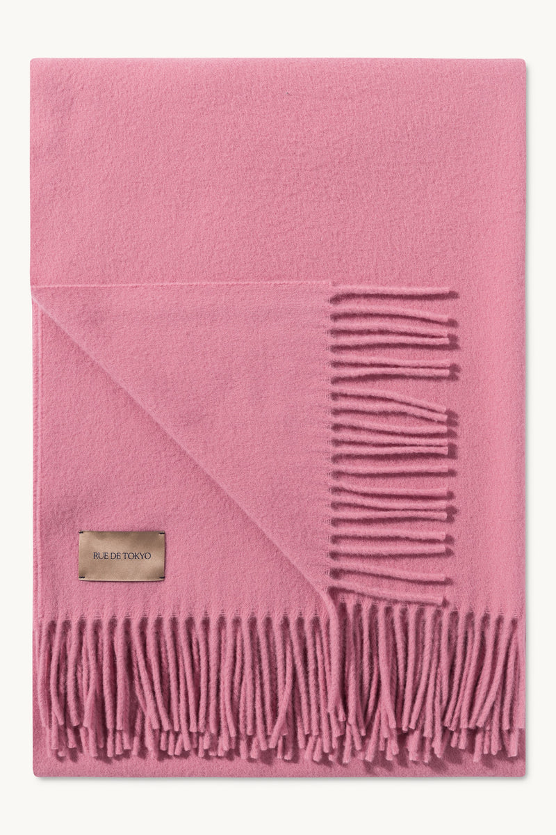 ASHTON ROSE VIRGIN WOOL SCARF