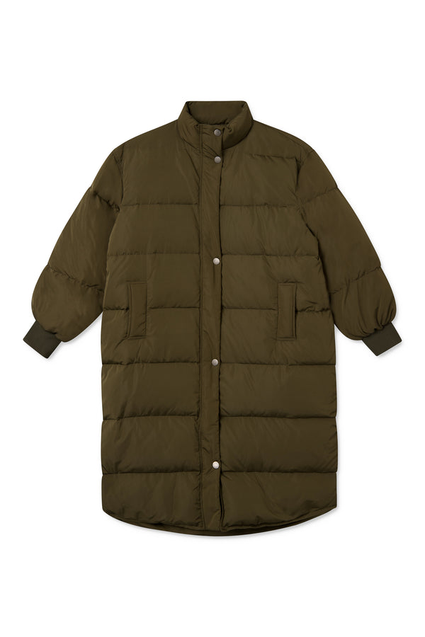 CALA ARMY GREEN DOWN COAT