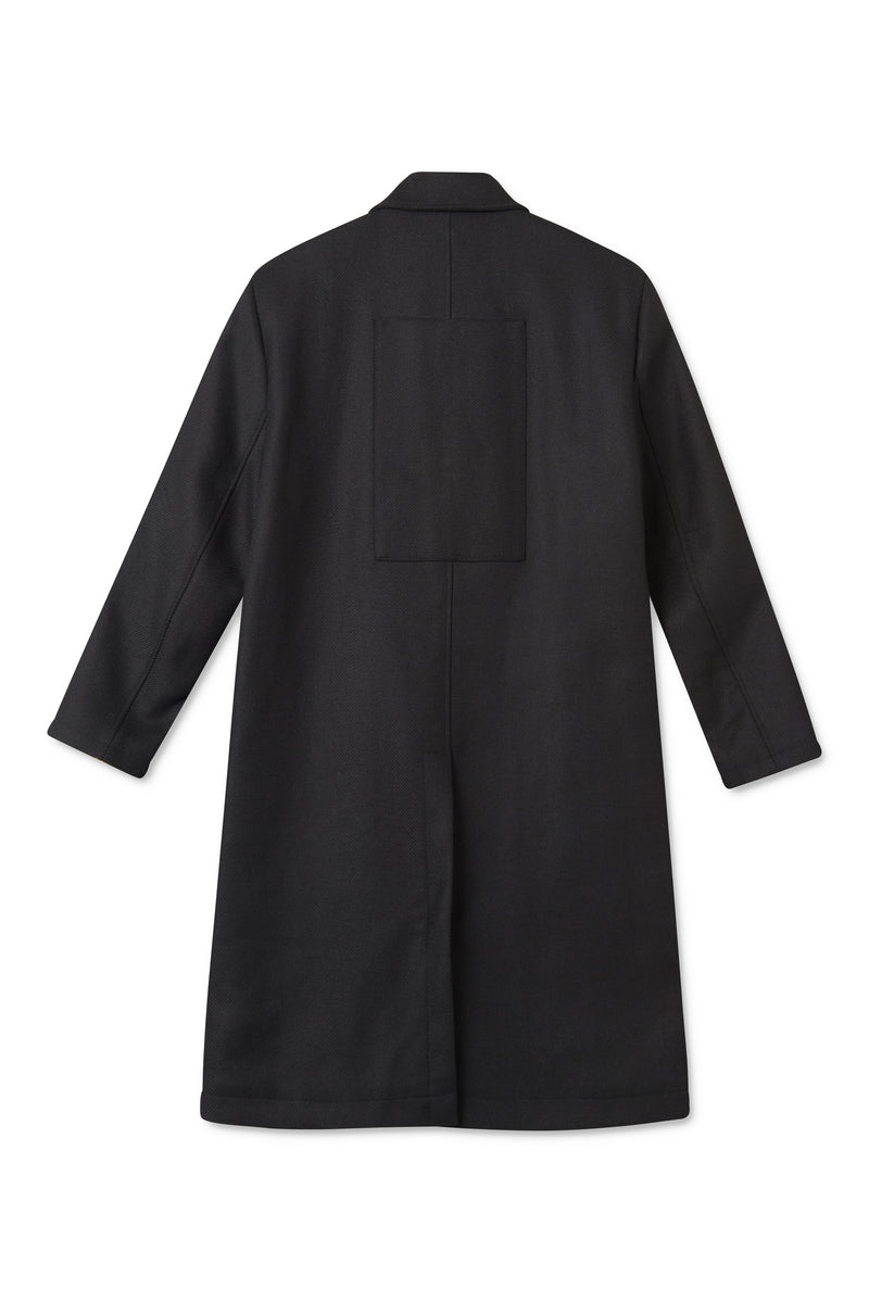 CHESTER BLACK COAT