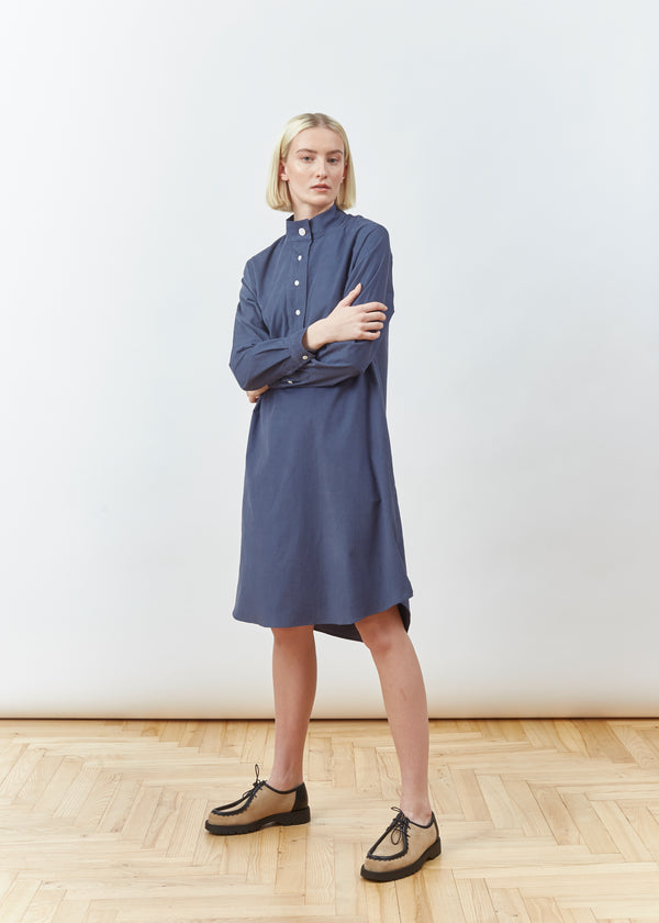 DIAN DUSTY BLUE DRESS