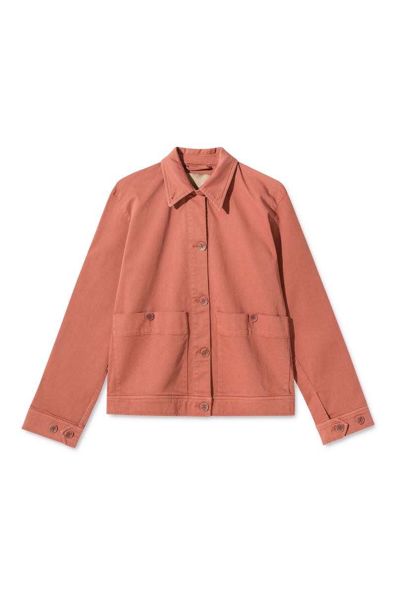 COURTNEY TERRACOTTA JACKET
