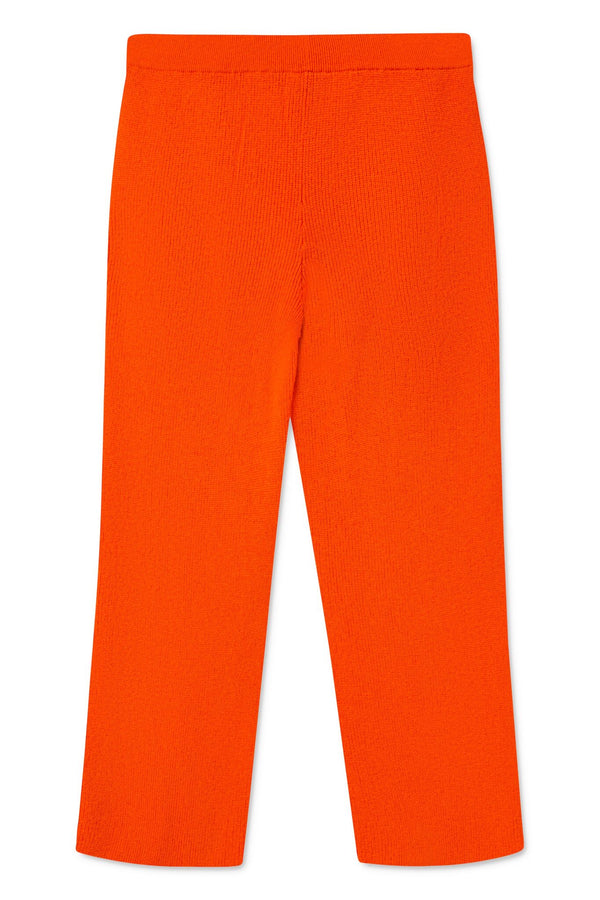 KIVA ORANGE KNIT PANTS