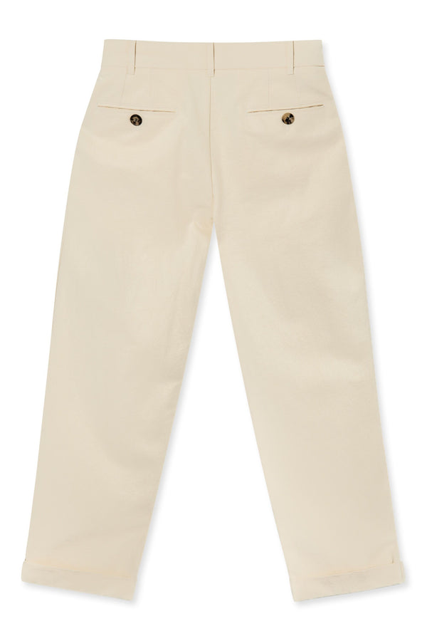 PANO MENS CROPPED TROUSERS