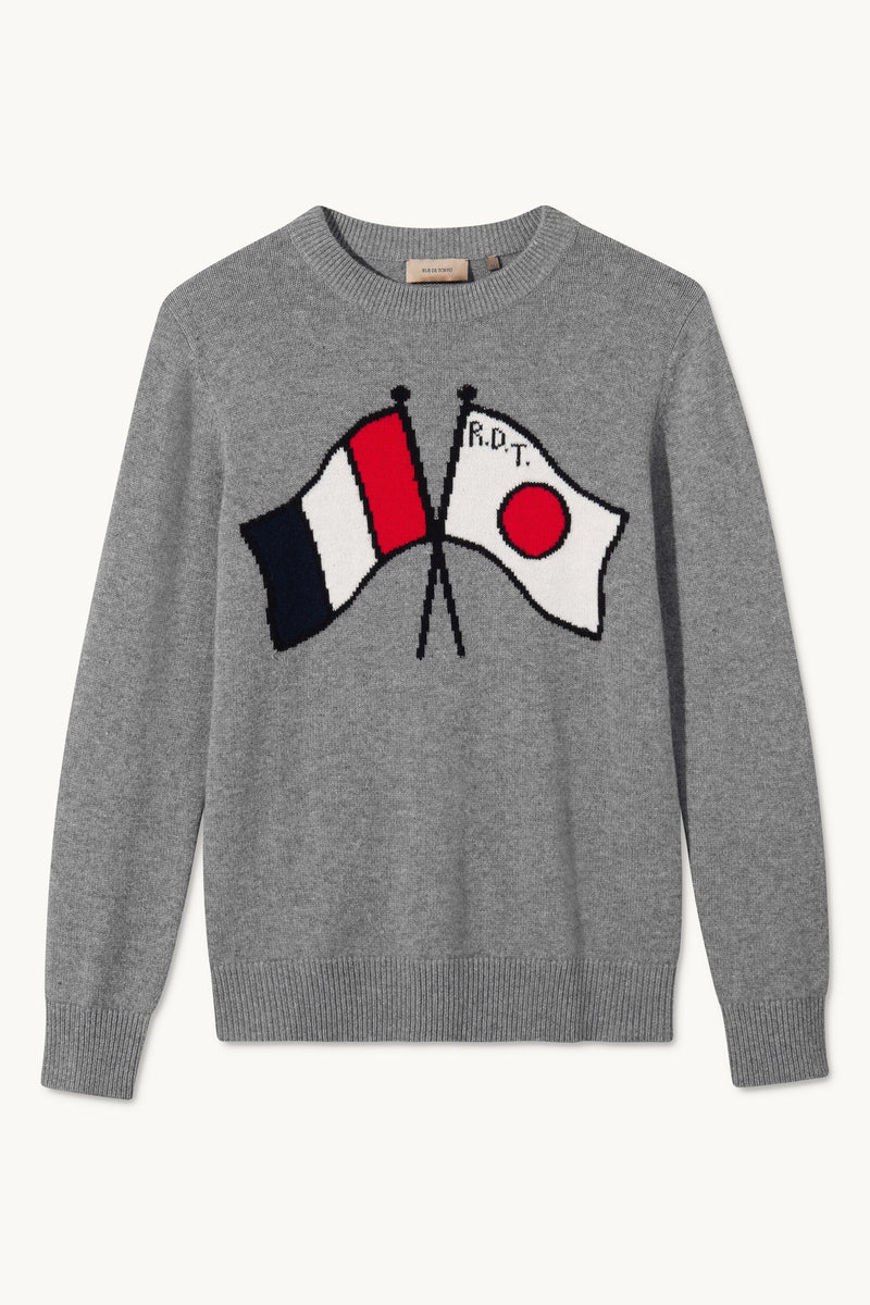 KARLO FLAGS INTARSIA SWEATER