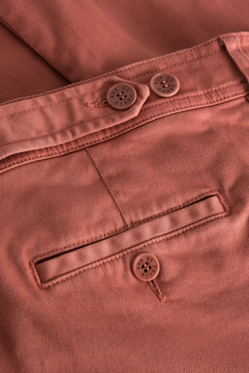 PHIL TERRACOTTA SHORTS