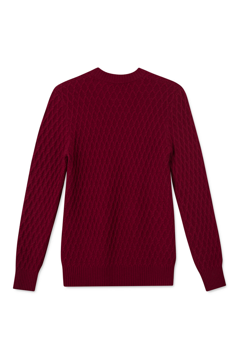 KABEL MULBERRY KNIT