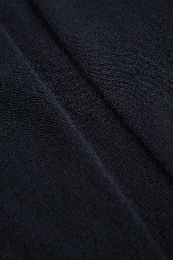 KOMME NAVY - POLO KNIT
