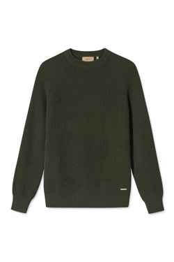 KALI ARMY GREEN SWEATER