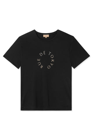 TREVES CIRCLE LOGO T-SHIRT