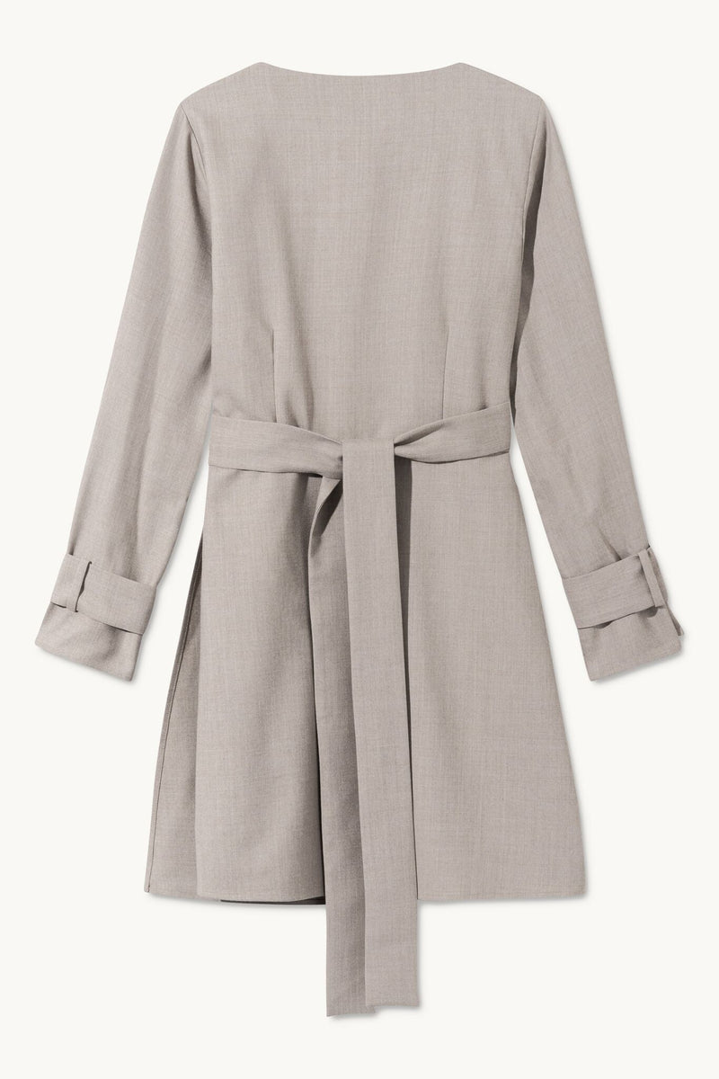 DAGNY SAND SUIT DRESS