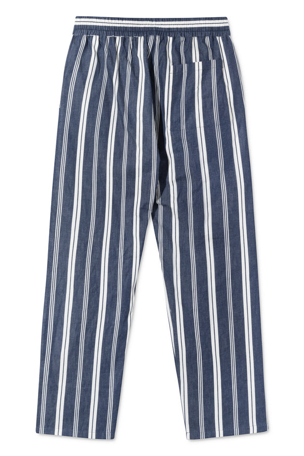 PATRICK WHITE/NAVY STRIPE PANTS