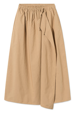PETUNIA LIGHT BROWN SKIRT