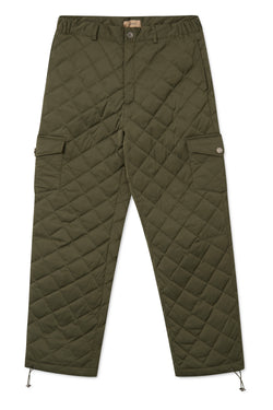 PILOU ARMY GREEN PADDED PANTS