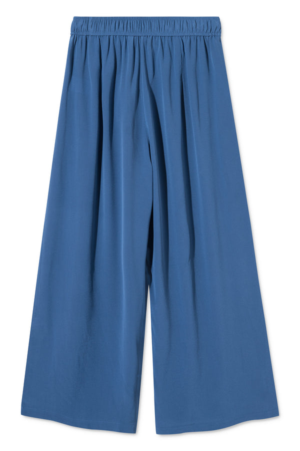 PIPER BLUE SILK PANTS