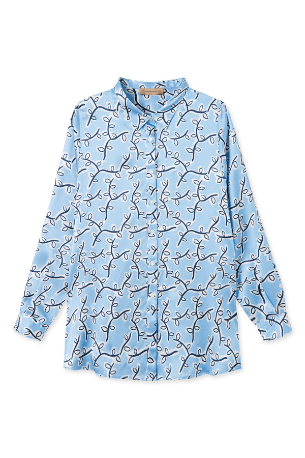 SASA FLOWER SILK SHIRT