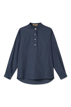 SERA DUSTY BLUE SHIRT