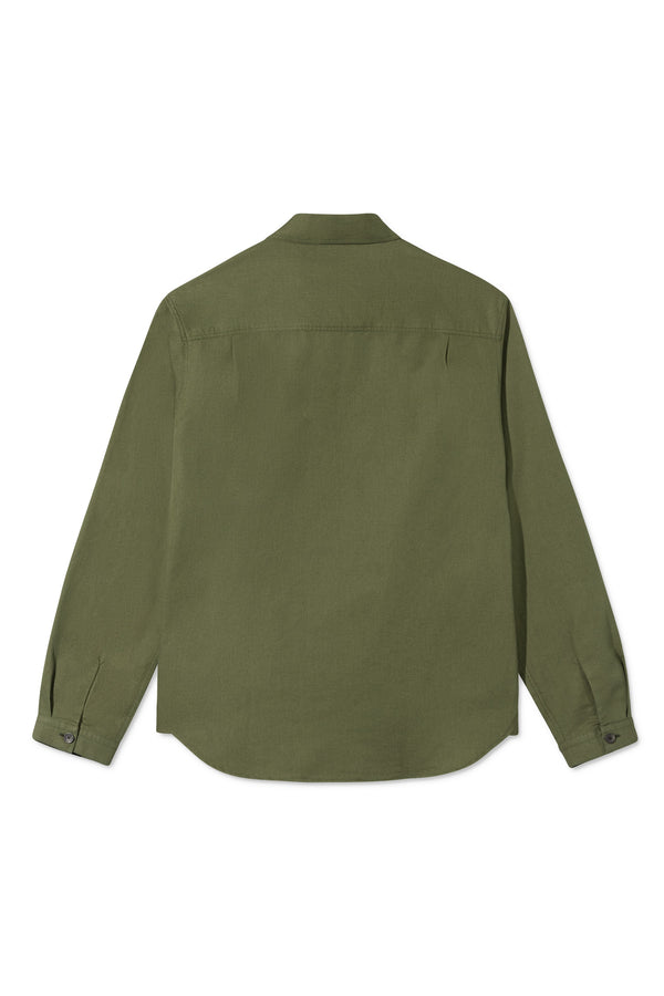 SILAS ARMY GREEN SHIRT