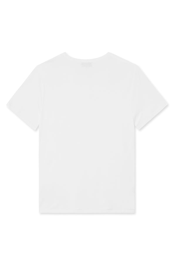 TAIMA WHITE - ORGANIC COTTON T-SHIRT