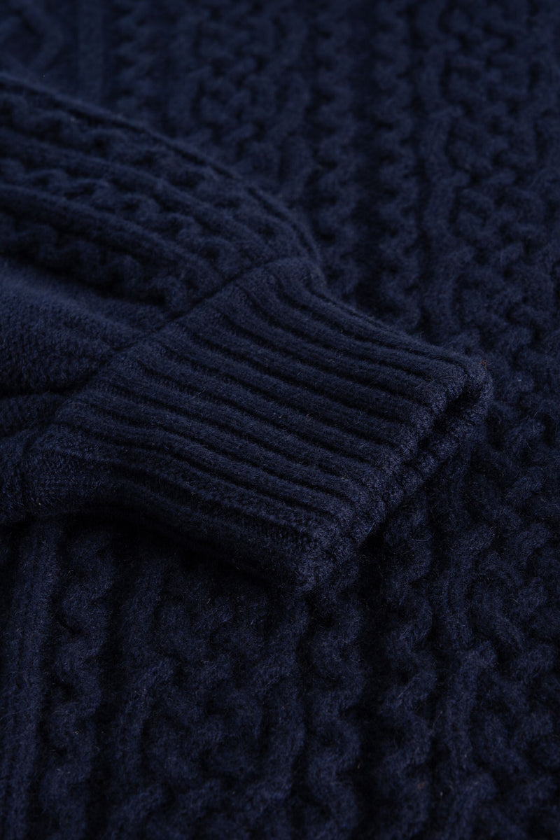 KORAL NAVY SWEATER