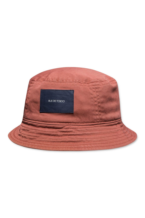 ARIE TERRACOTTA BUCKET HAT