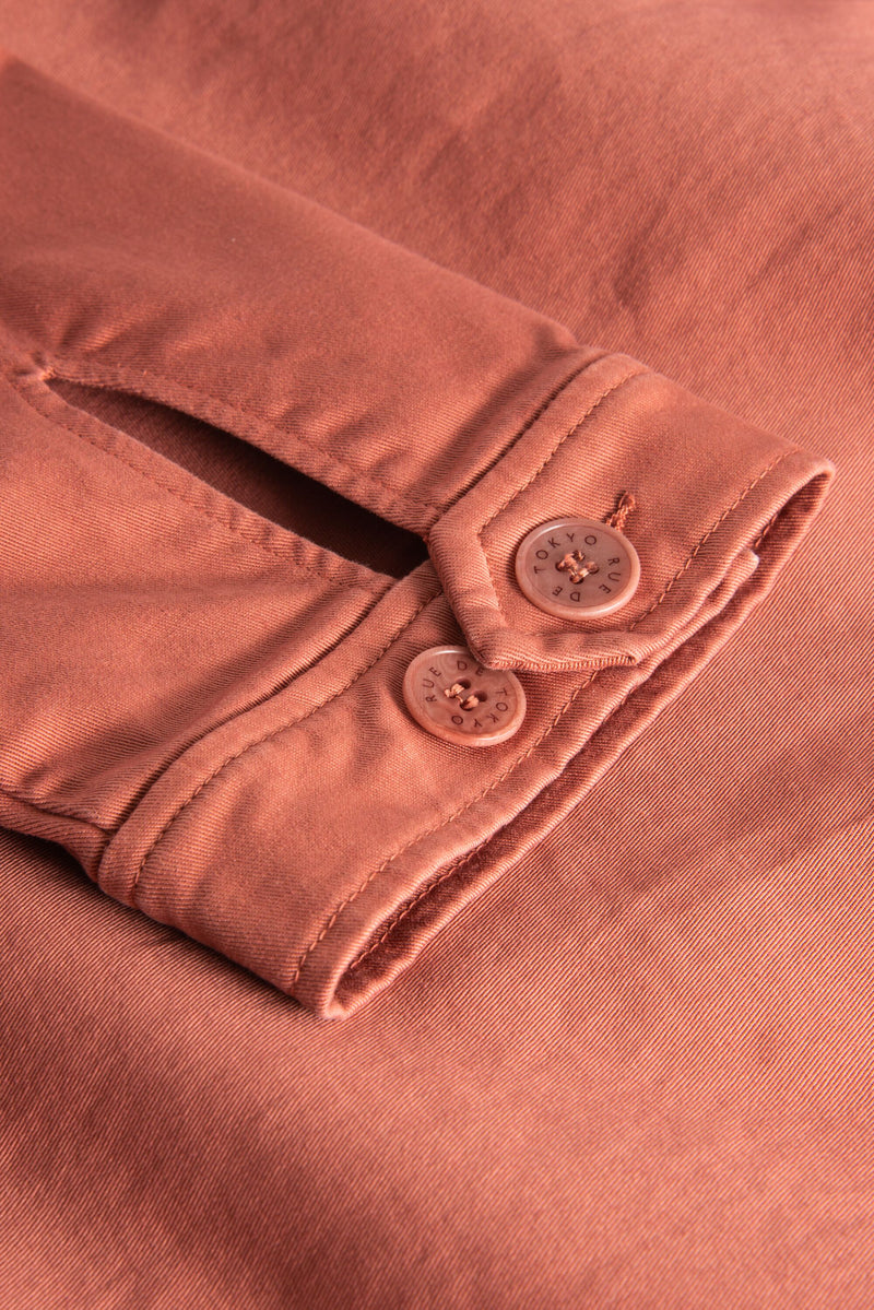 CARTER TERRACOTTA JACKET