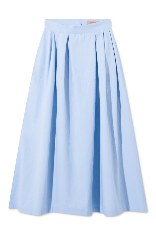 PORTIA LIGHT BLUE SKIRT