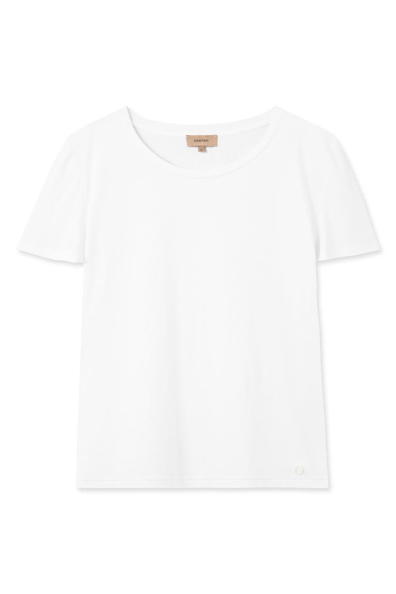 THEA WHITE OVERSIZED T-SHIRT