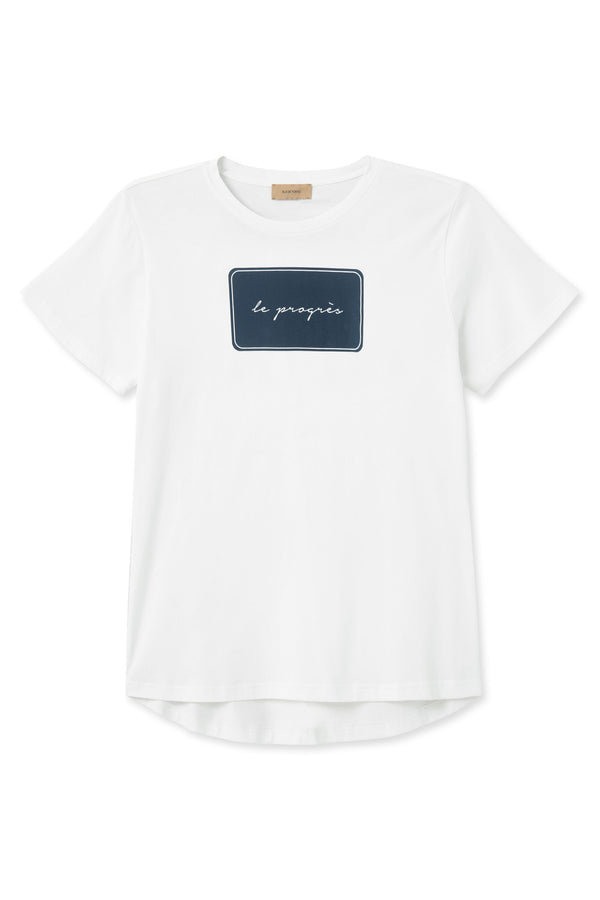 THALIA PROGRESS WHITE T-SHIRT