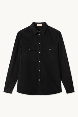 SAWYER BLACK CORDUROY SHIRT