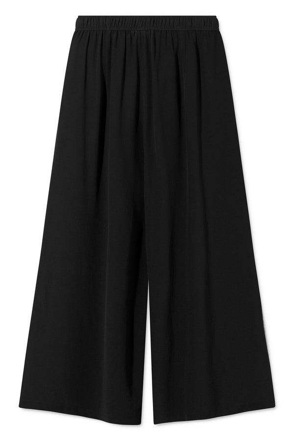 PIPER BLACK SILK PANTS