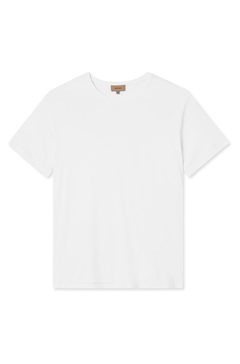 TAIMA WHITE ORGANIC COTTON T-SHIRT