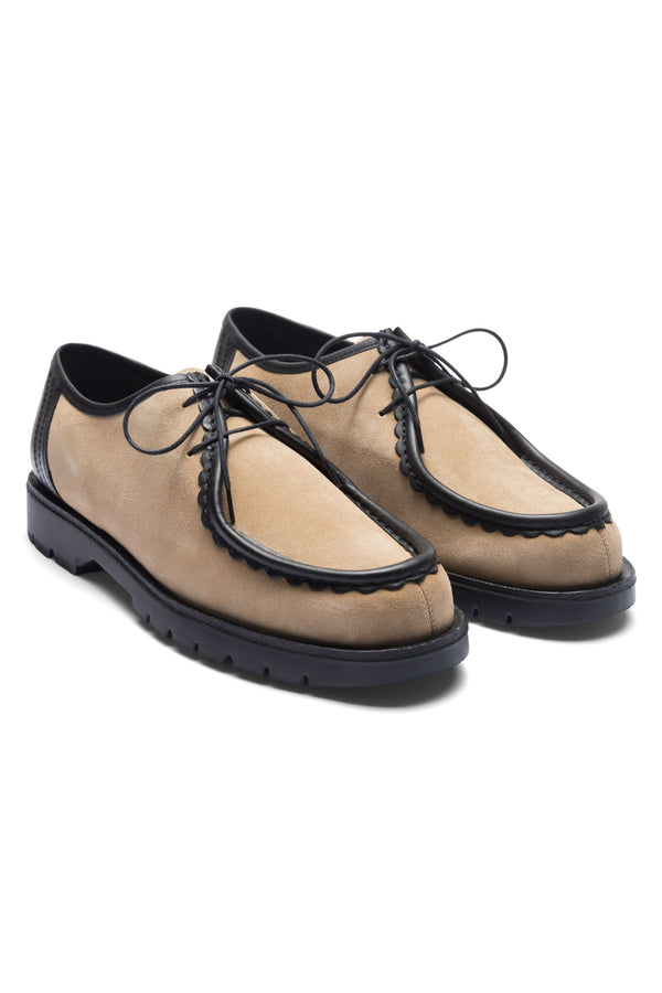 PADROR BEIGE NOIR CHURCH SHOE