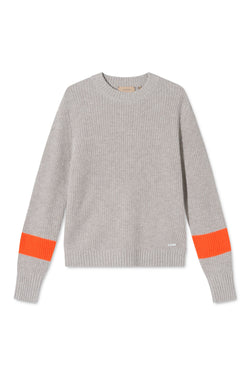 KANEL SAND STRIPED SWEATER
