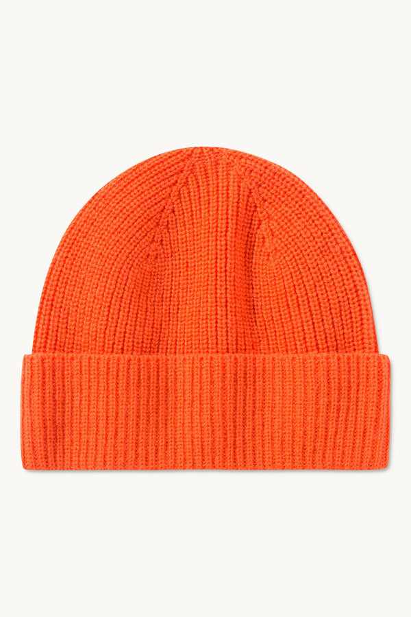 KELTON ORANGE WOOL BEANIE