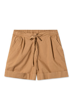 PEONY LIGHT BROWN SHORTS