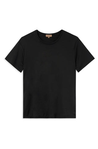 TAIMA BLACK - ORGANIC COTTON T-SHIRT