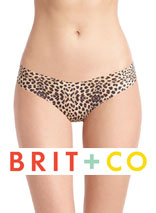 The Classic Print Thong on Brit + Co