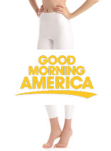 Faux Leather Leggings on Good Morning America