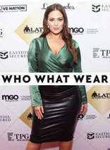 e457744577 Ashley Graham Styles the Faux Leather Midi Skirt & It Sells ...